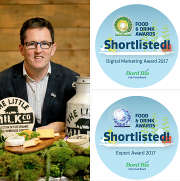 The Little Milk Company Shortlisted for two Bord Bia Awards