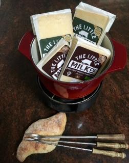 The Little Milk Co Irish Cheddar Fondue! - Little Milk Company