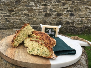 Courgette and Cheddar and Oats Soda Bread