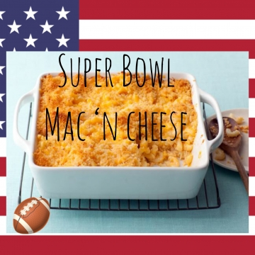 Super Bowl Mac 'n Cheese